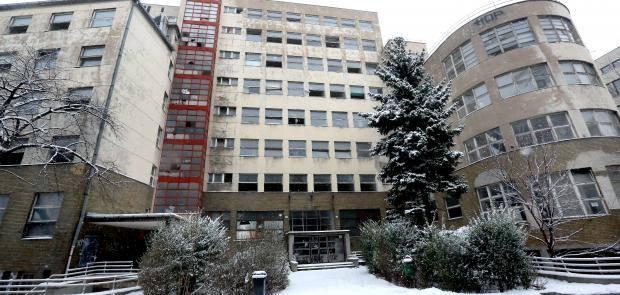 Bývalá nemocnica Bezručova v Bratislave.  Zdroj: www.facebook.com/nasabezrucka/