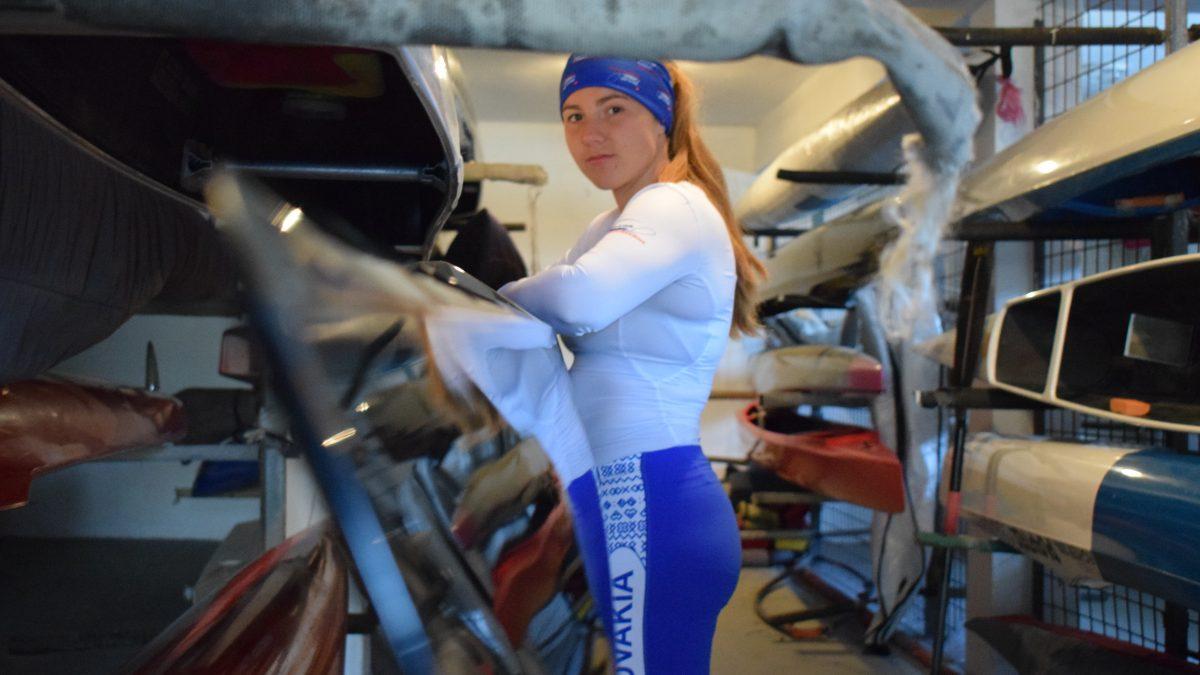 Slovenská kanoistka Hana Mikéciová: V druhej polovici sezóny som bola niekoľkokrát rozhodnutá predať loď a skončiť s kanoistikou