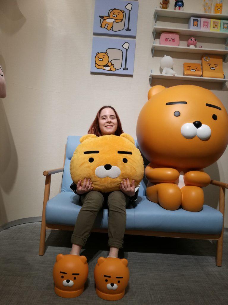 Barbora si užíva pobyt v Južnej Kórei. Zdroj: Barbora Mikulovičová