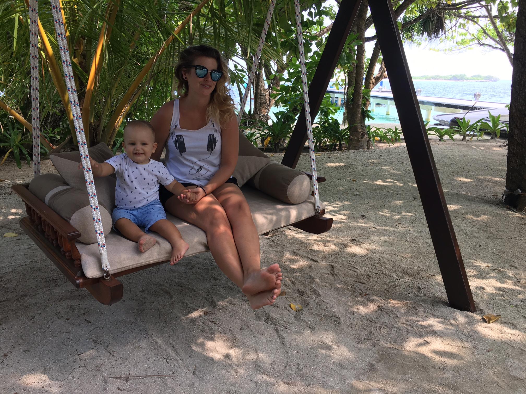 Dominika si užívala dovolenku so svojou rodinou. Zdroj: Dominika Dede Dadíková