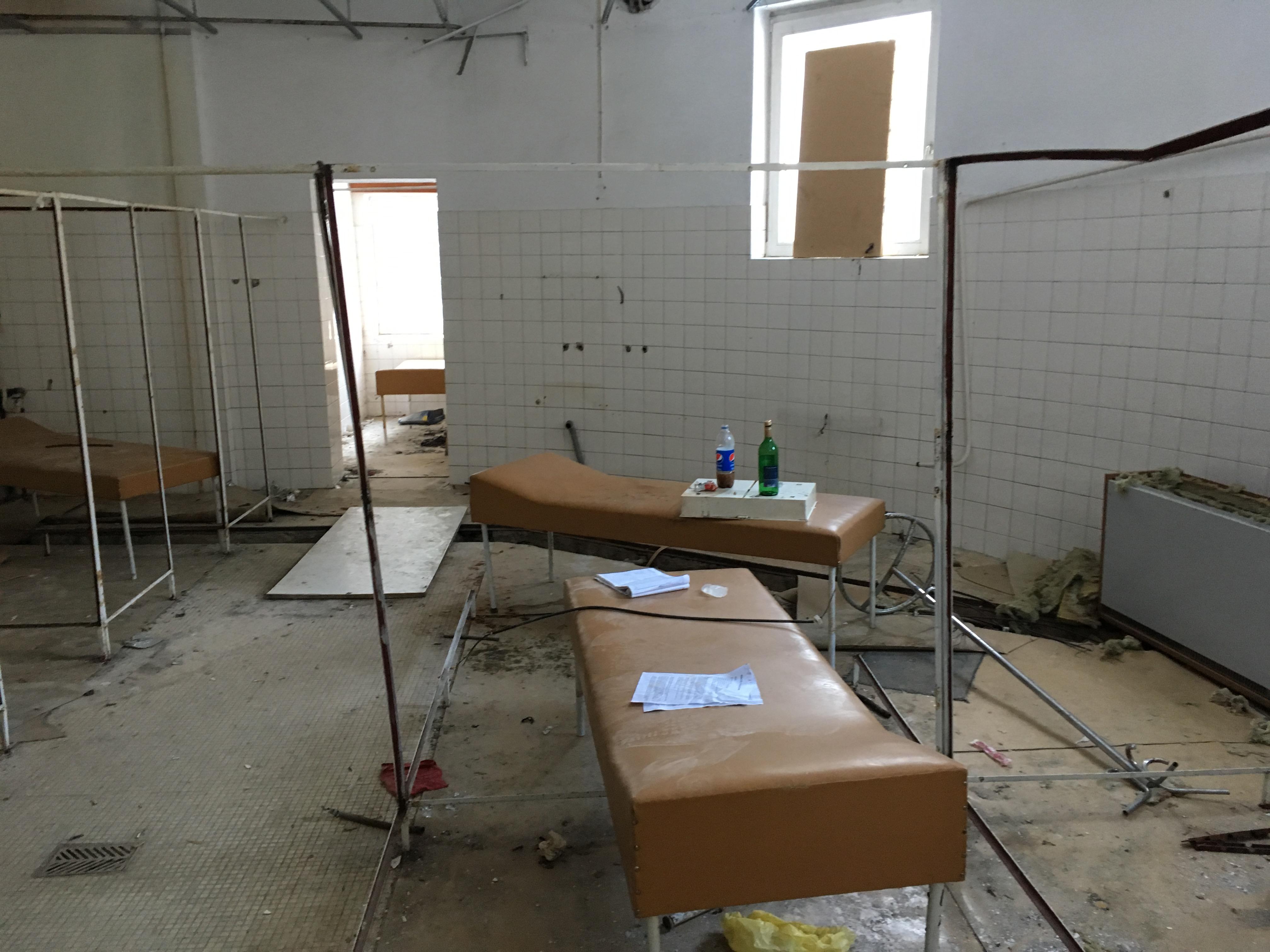 miestnost pre liecebne procedury