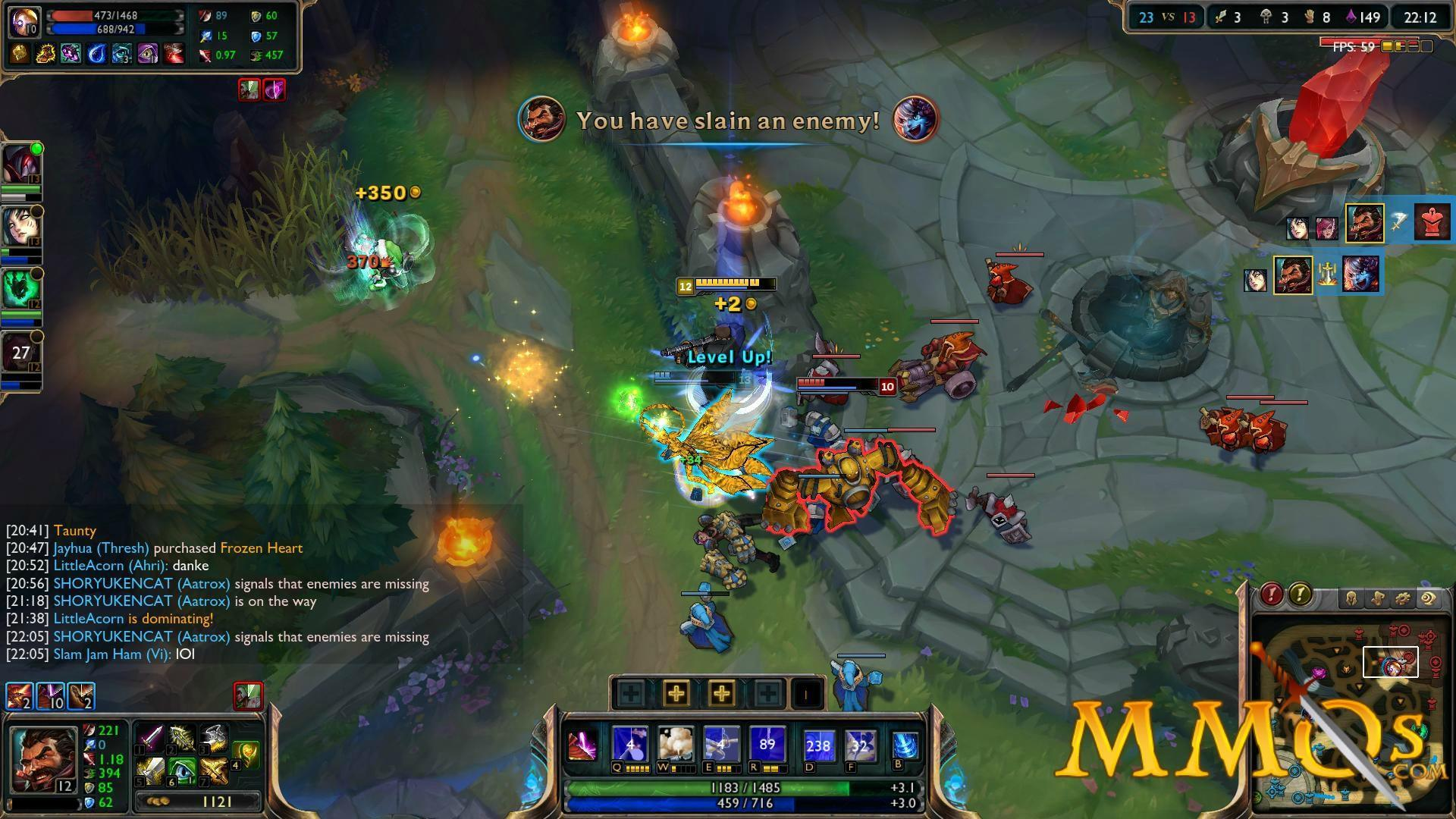 league of legends multiplayer
