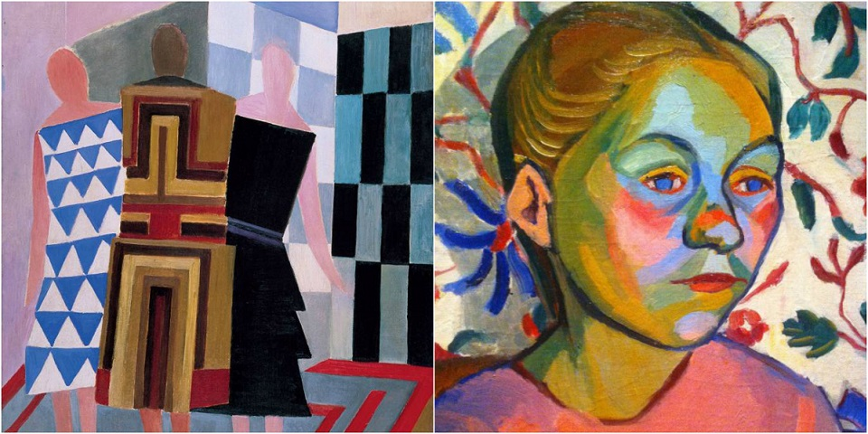 Three Women, Forms, Colours Sonia Delaunay