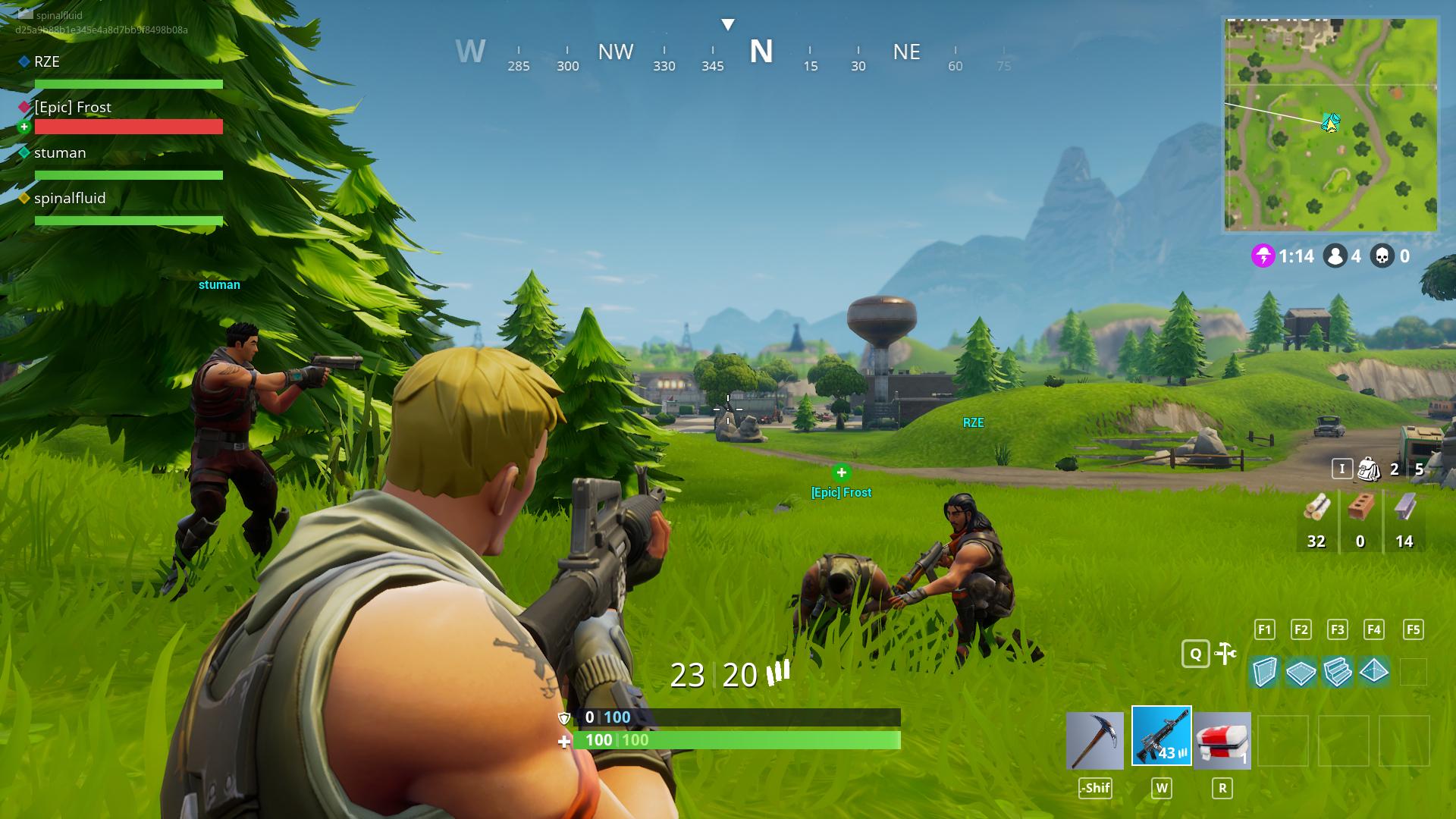 fortnite multiplayer