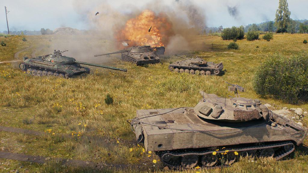 world of tanks multiplayer