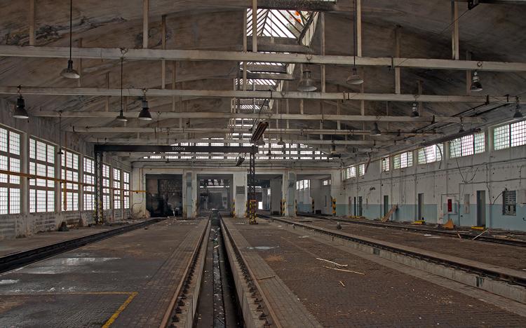 vlakové depo