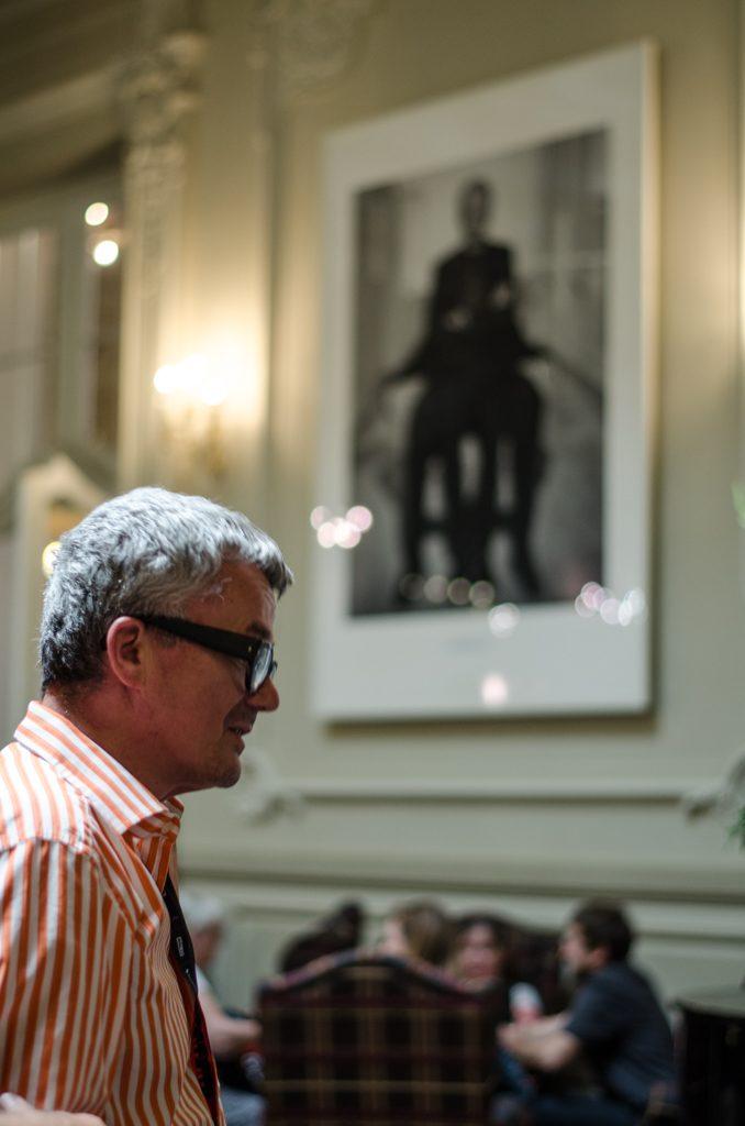 Tono Stano, slovenský fotogrf a významná osobnosť festivalu.