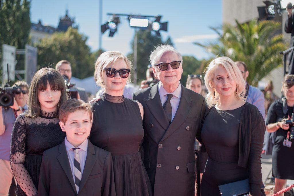 Barry Levins s rodinou