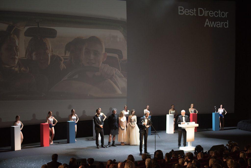 odovzádavnie ceny najlepšiemu režisérovi