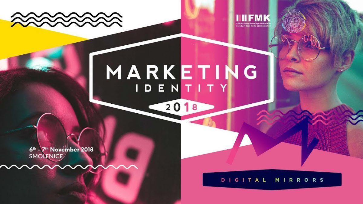 PRIAMY PRENOS: Sledujeme druhý deň konferencie Marketing Identity 2018: Digital Mirrors