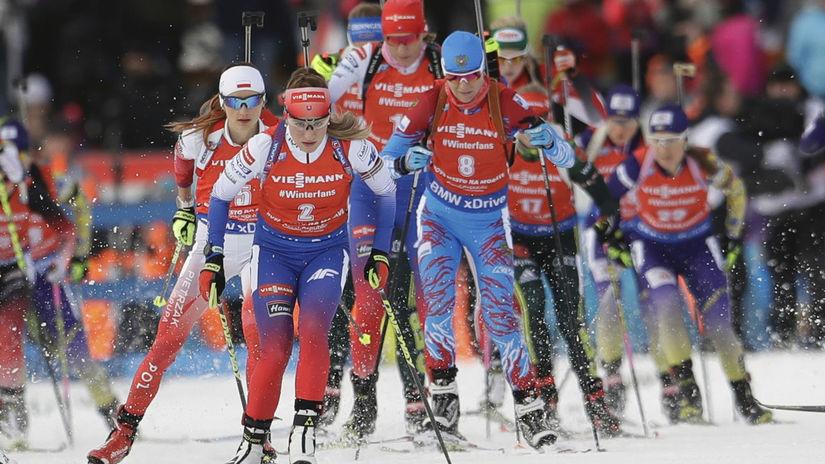 Priamy prenos: Biatlon-Svetový pohár-Rýchlostné preteky žien na 7,5km v Oberhofe 2018/2019