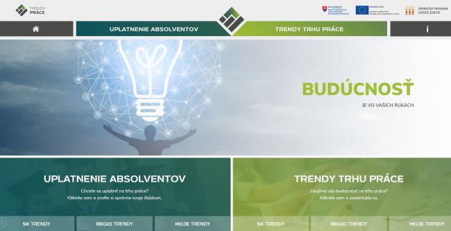 Nový profesijný web pre mladých ukazuje realitu pracovného trhu