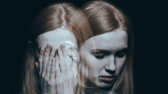 depresia smutok dievca zena