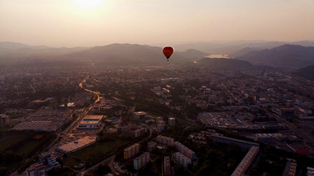 Let, balón, pilot, Slovensko, prelet, lietanie